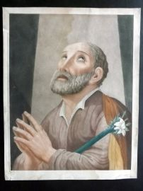 After Angeli C1800 LG Folio HC Stipple Eng. Saint Joseph with the Flowering Rod